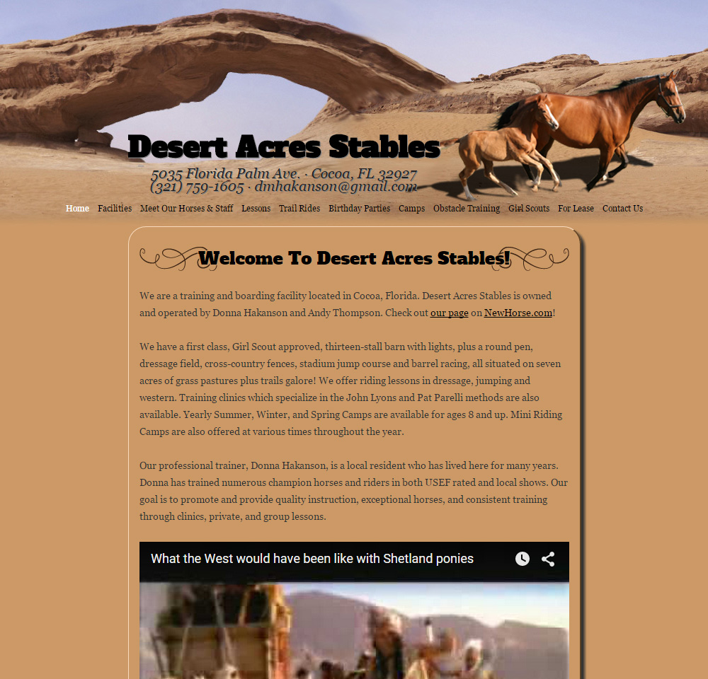 Desert Acres Stables