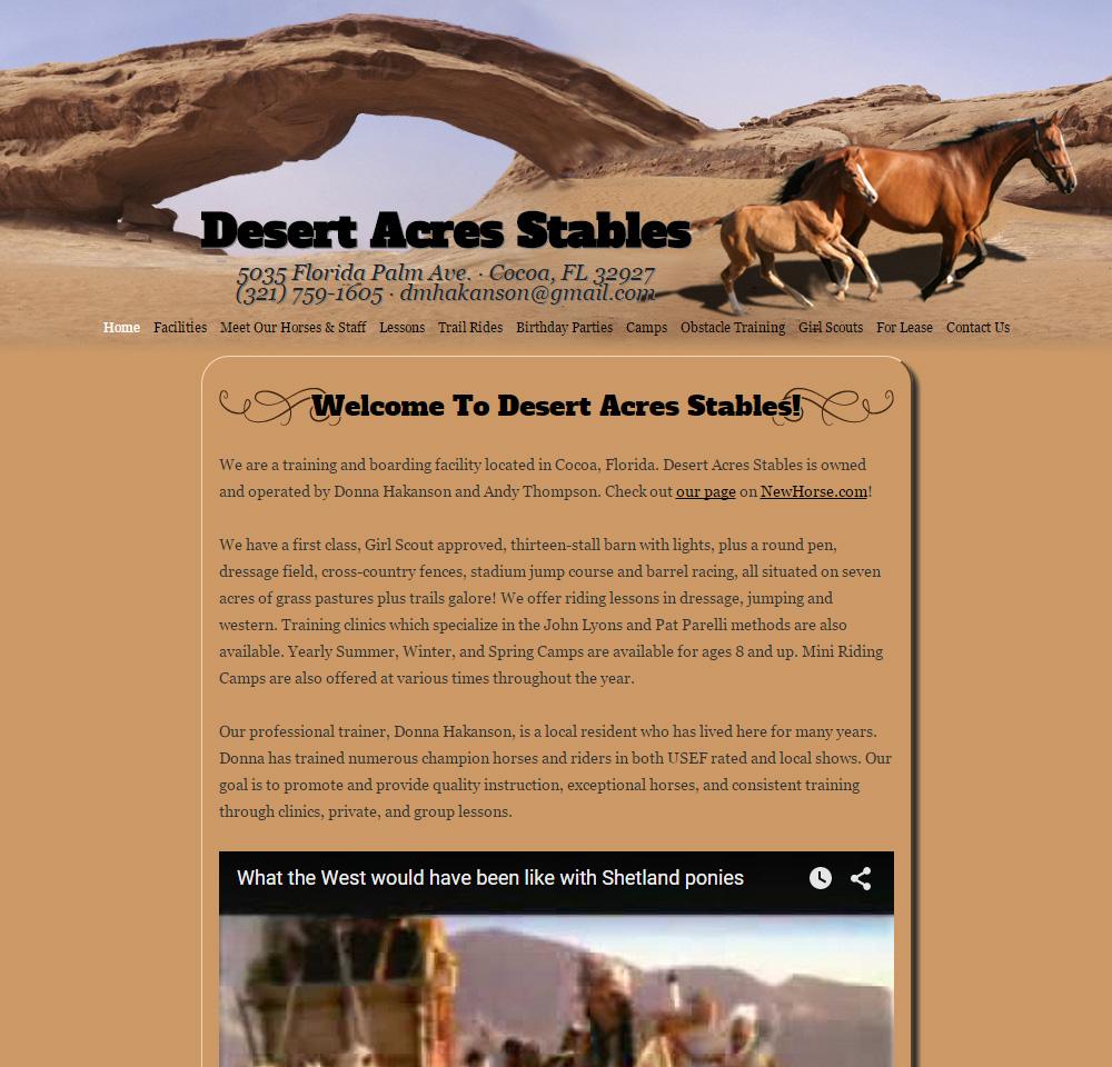 Desert Acres Stables