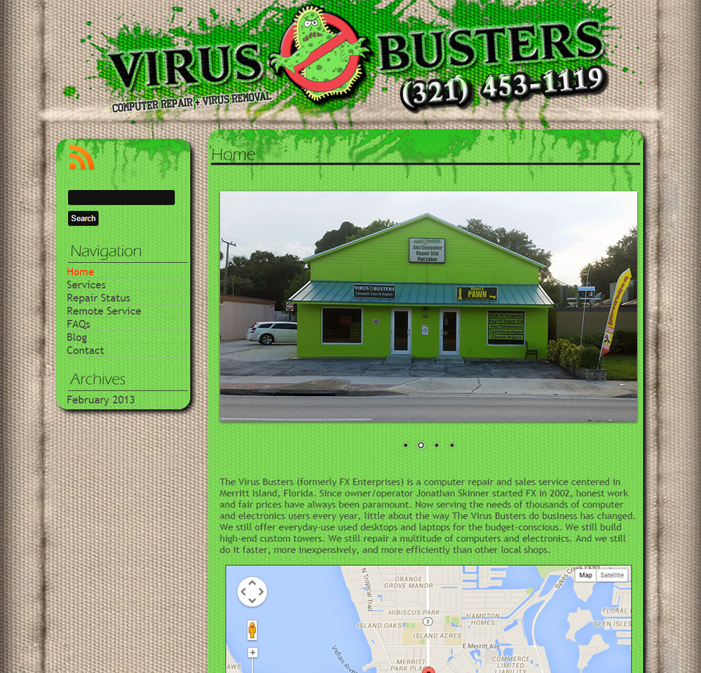 The Virus Busters
