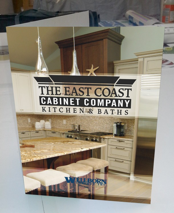 East Coast Cabinet Co - Presentation Folder - Front