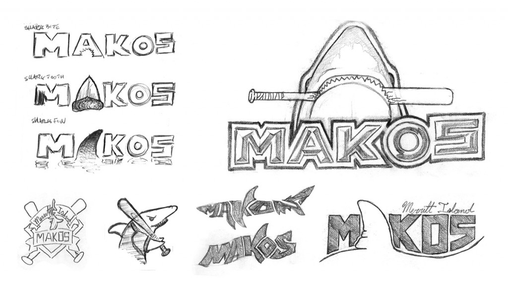 Makos - Logo - Sketches