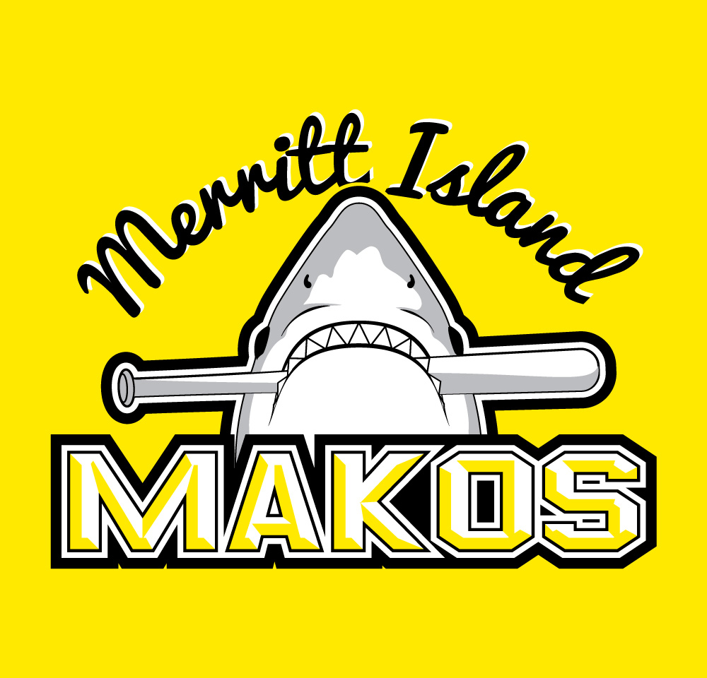 Merritt Island Makos - Logo (Full Color)