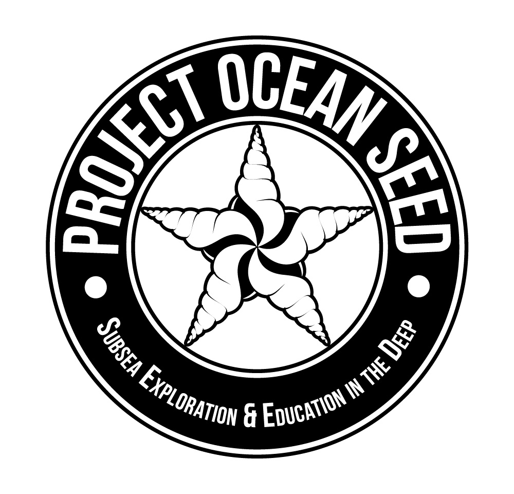 Project Ocean SEED - Logo (Black & White)