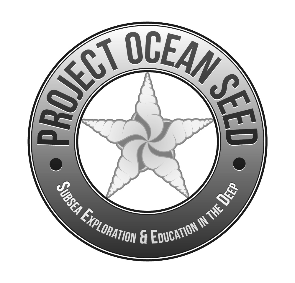 Project Ocean SEED - Logo (Grayscale)