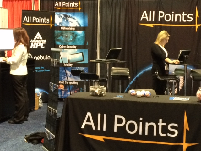 All Points Logistics - Trade Show Display, Detail 01