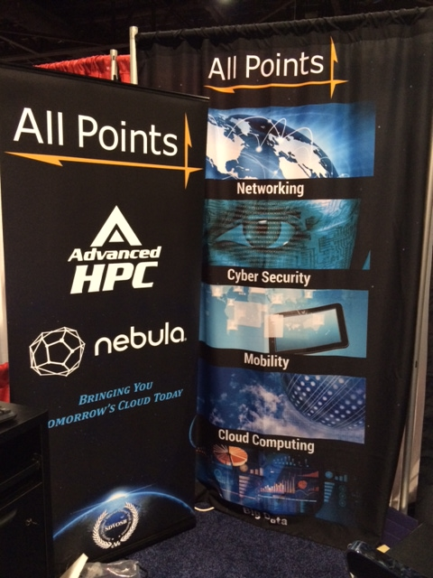 All Points Logistics - Trade Show Display, Detail 02