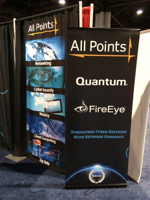 All Points Logistics - Trade Show Display, Detail 03