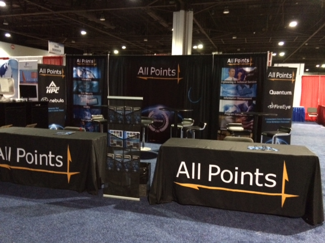 All Points Logistics - Trade Show Display