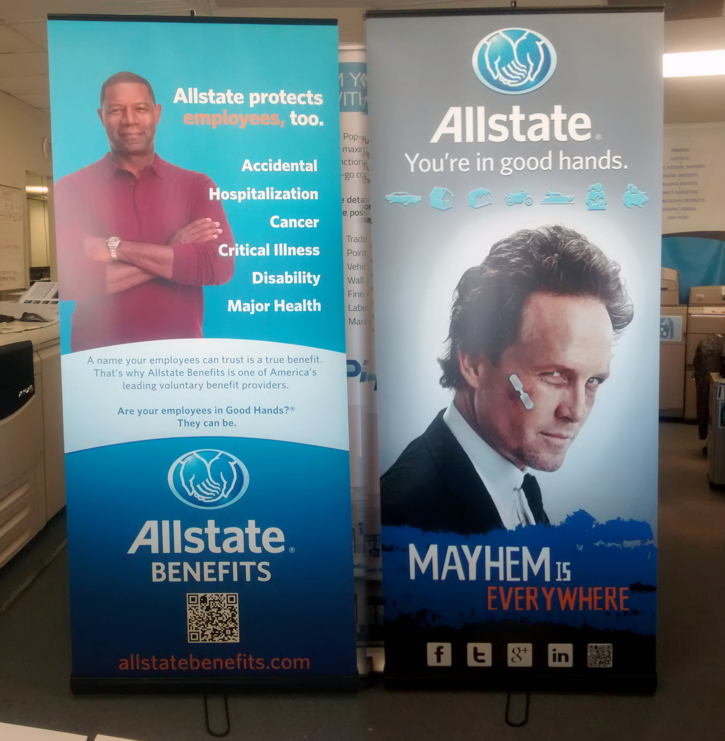 Allstate Insurance - Banners, Complete