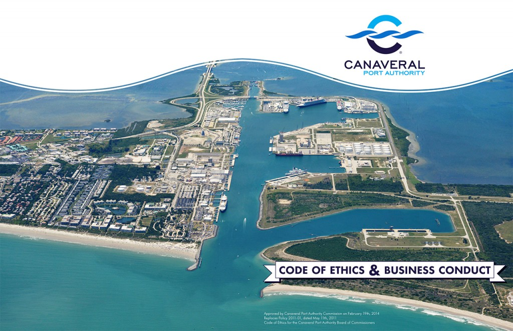 Canaveral Port Authority - Code of Ethics Book - Cover, Alt 2