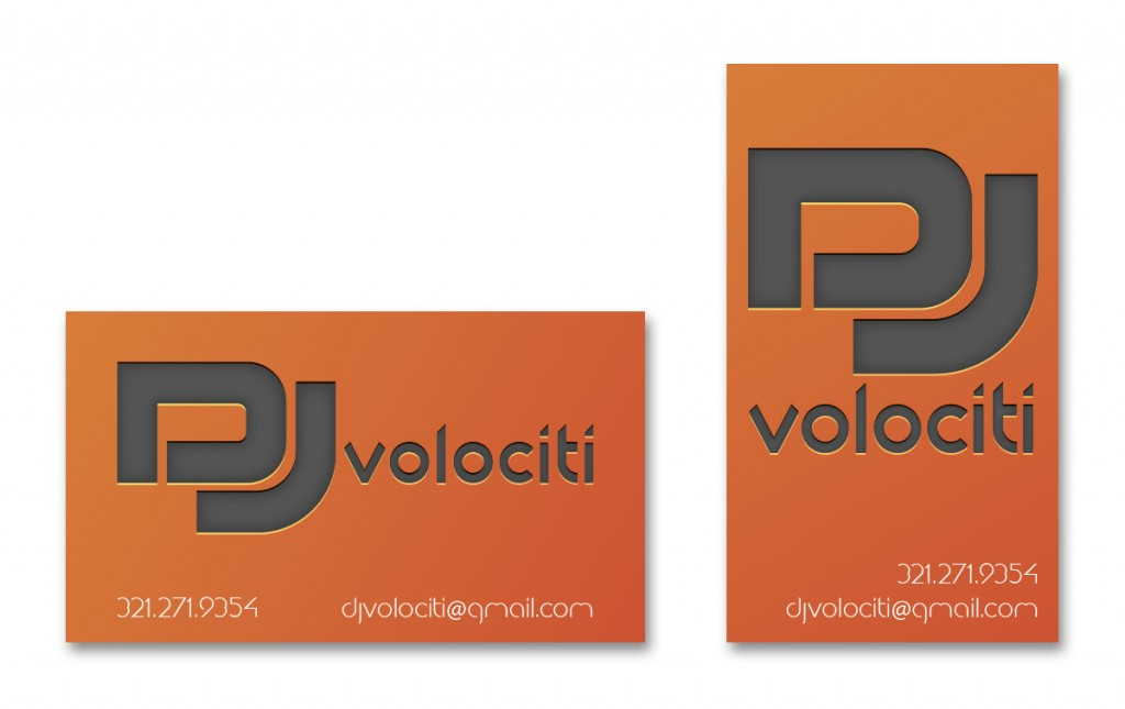 DJ Volociti - Business Card - Alternate 2