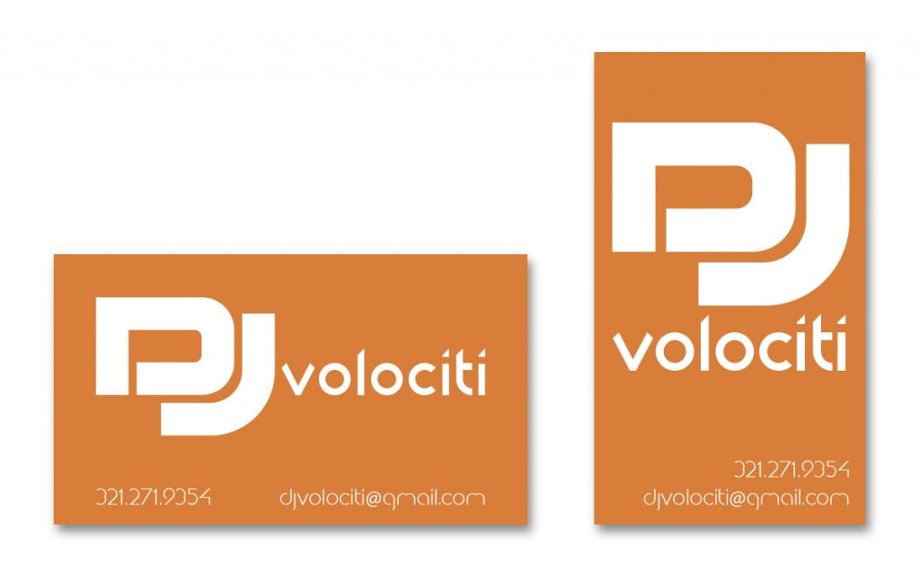 DJ Volociti - Business Card - Alternate 3