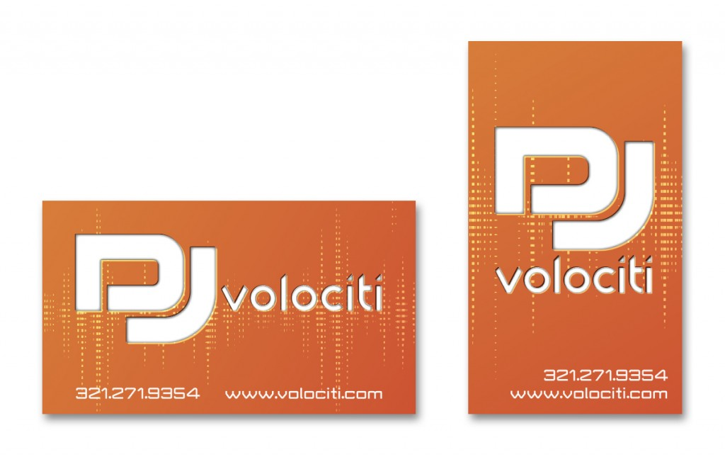 DJ Volociti - Business Card - Alternate 4