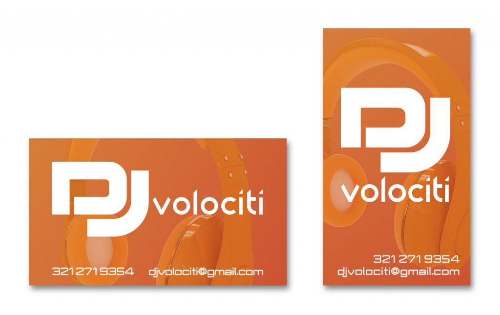 DJ Volociti - Business Card - Alternate 5
