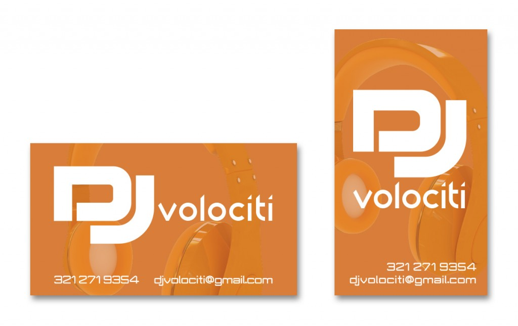 DJ Volociti - Business Card - Alternate 6