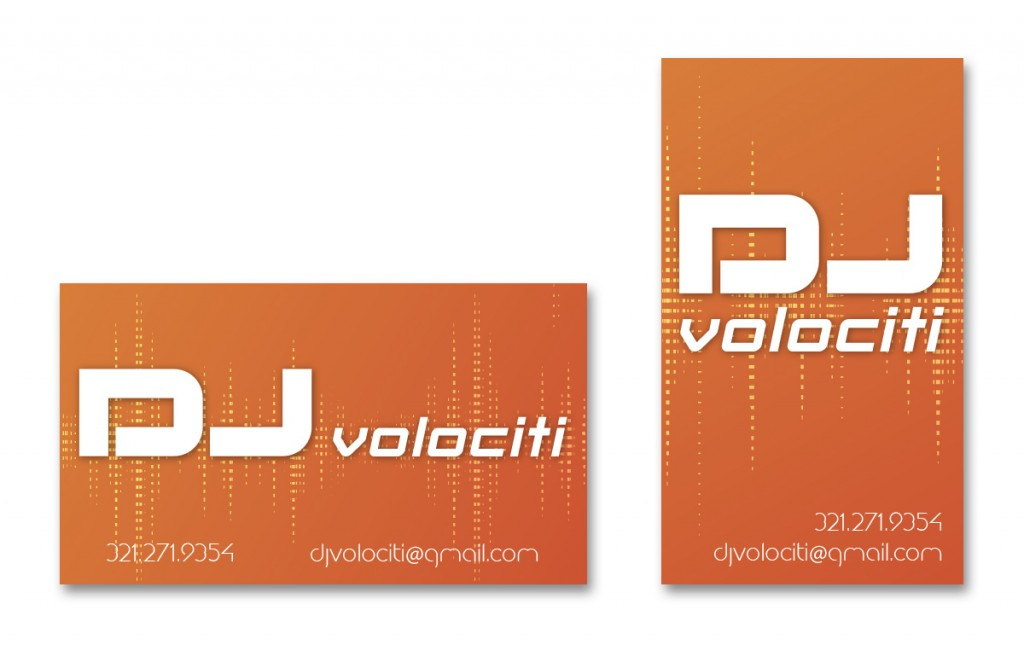 DJ Volociti - Business Card - Alternate 7