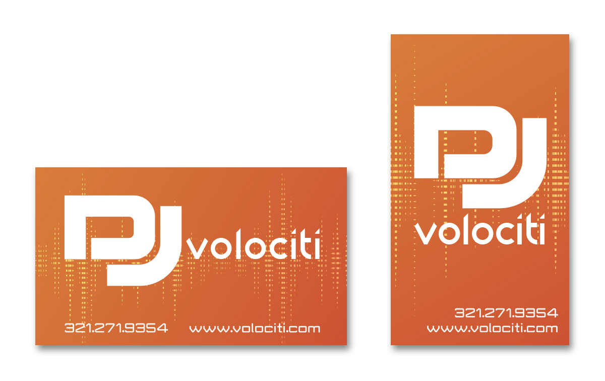 DJ Volociti - Business Card