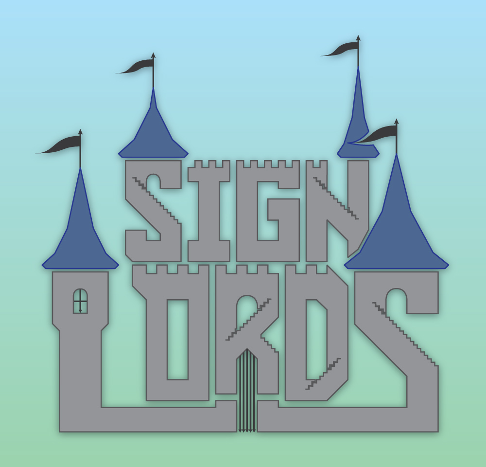 Sign Lords - Logo - Full Color, Detail