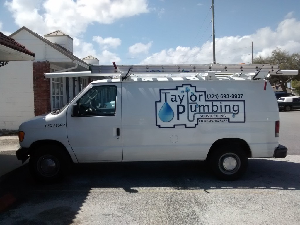 Taylor Plumbing - Vehicle Graphics - Complete - Driver