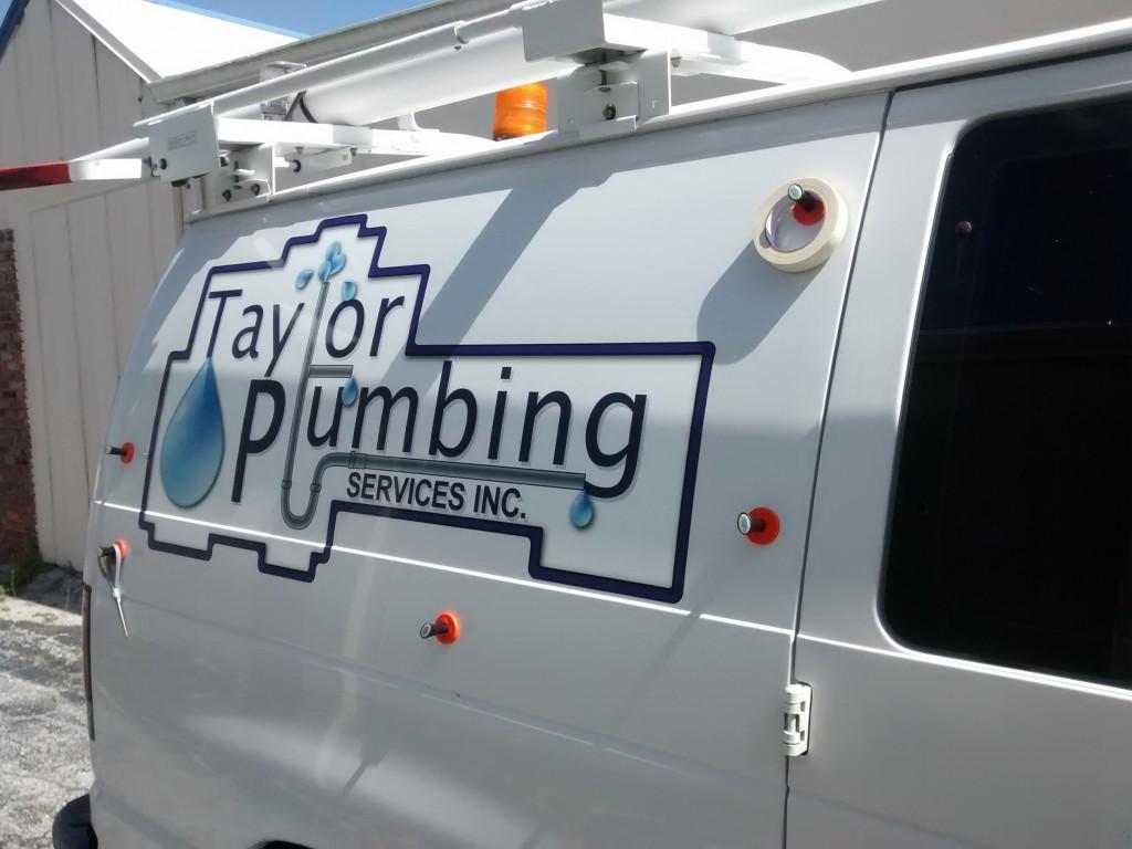 Taylor Plumbing - Vehicle Graphics - In Progress - Passenger