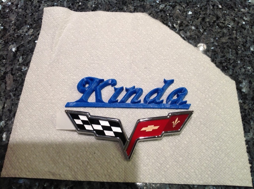 Bill Mays - Kinda Auto Badge - 3D Printed Copy