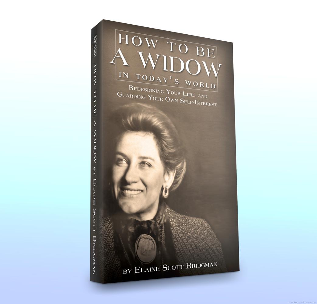 Elaine Scott Bridgman - How To Be a Widow - Mockup