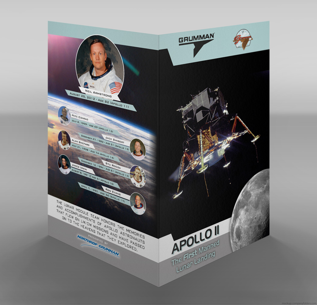Northrop Grumman - Lunar Module Team Reunion Program - Mockup