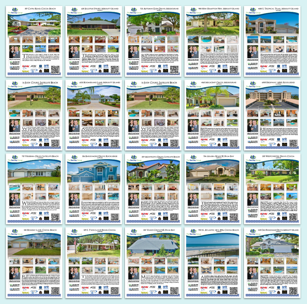The Barclay Group - Real Estate Flyers - Catalog