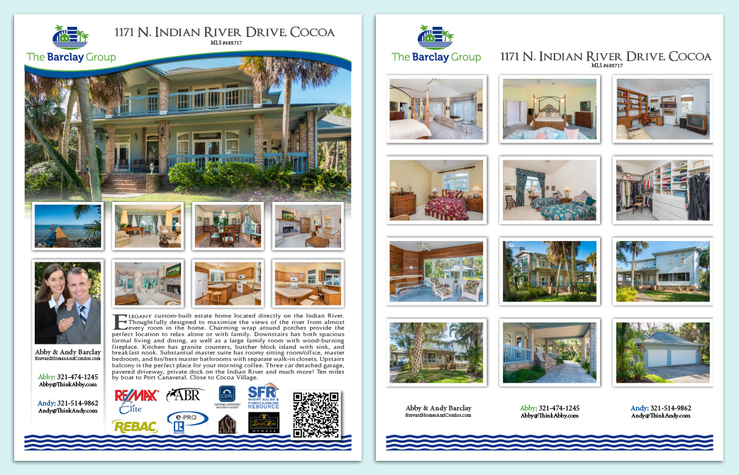 The Barclay Group - Real Estate Flyers - Flat
